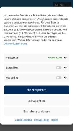 Vorschau der mobilen Webseite www3.novomatic.com, Hirscher Moneysystems GmbH