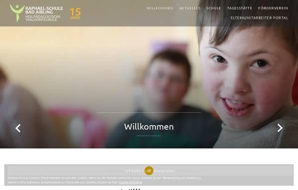 Vorschau von raphael-schule.info, Raphael-Schule Bad Aibling