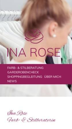 Vorschau der mobilen Webseite www.excellis.de, Excellis - Ina und Dr. Nico Rose