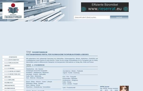 Vorschau von www.fachzeitungen.de, Fachzeitung.com
