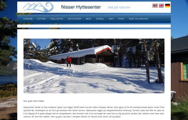 Vorschau von www.hyttesenter.no, Nissser Hyttesenter, Vrådal, Telemark