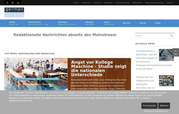 Vorschau von germannews.com, Aktion: Deutsche Freiwilligen Division Angela