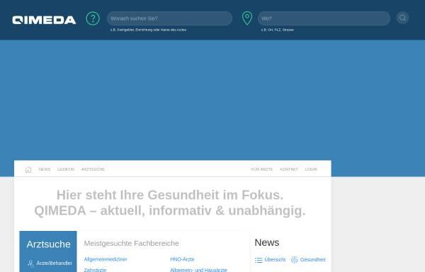 Vorschau von www.qimeda.de, QIMEDA