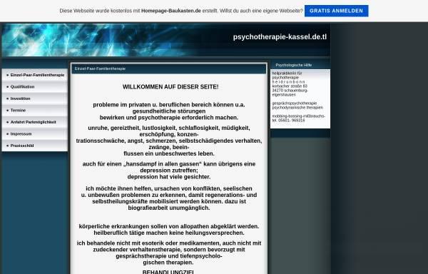 Vorschau von psychotherapie-kassel.de.tl, Heidrun Bonn