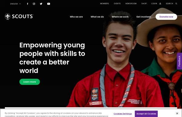 Vorschau von www.scout.org, Weltpfadfinderbewegung - WOSM