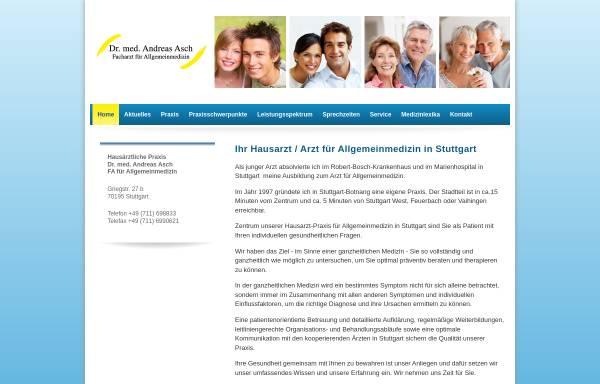 Vorschau von www.dr-asch.de, Dr. med. Andreas Asch