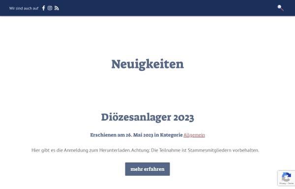 Vorschau von www.dpsg-gp.de, DPSG Stamm St. Maria Göppingen