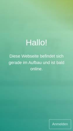 Vorschau der mobilen Webseite www.prana-und-quantenheilung.de, Prana- und Quantenheilung Sabine De Farfalla