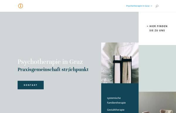 Vorschau von www.psychotherapie-graz.info, Str;chpunkt -Praxis für Psychotherapie und Psychoanalyse Mag. Michael Gloggnitzer