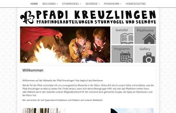 Vorschau von www.sturmvogel.ch, Pfadi Sturmvogel Kreuzlingen