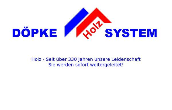 Vorschau von www.doepke-holz-system.de, Döpke Holz System - Inh. Dipl. Ing. Christian Döpke