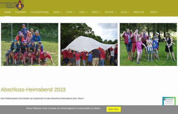 Vorschau von www.13er.at, Pfadfindergruppe Wien 13 Erdberg