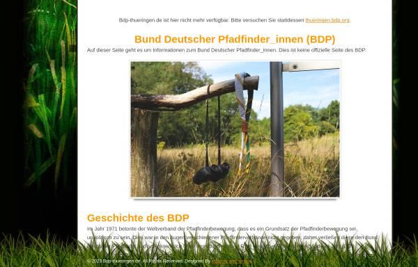 Vorschau von www.bdp-thueringen.de, BDP Landesverband Thüringen