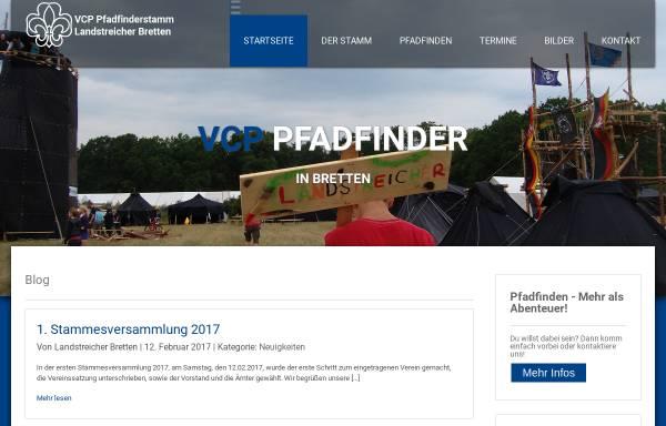Vorschau von www.vcp-bretten.de, Verband Christlicher Pfadfinderinnen und Pfadfinder Bretten