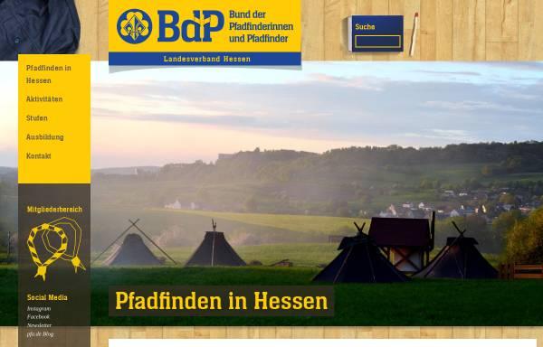 Vorschau von hessen.pfadfinden.de, BdP Landesverband Hessen