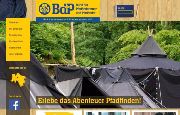 Vorschau von www.nds.pfadfinden.de, BdP Landesverband Niedersachsen