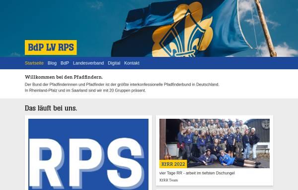Vorschau von www.bdp-rps.de, BdP Landesverband Rheinland - Pfalz / Saar