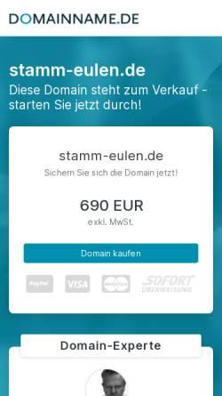 Vorschau der mobilen Webseite www.stamm-eulen.de, BdP Stamm Eulen, Geretsried