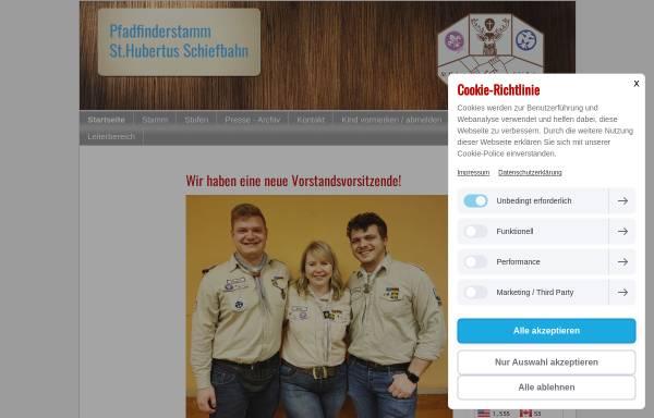 Vorschau von www.pfadfinder-schiefbahn.de, BdP Stamm St. Hubertus, Willich-Schiefbahn
