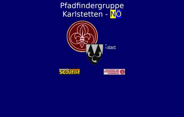 Vorschau von www.scout.at, Pfadfindergruppe Karlstetten