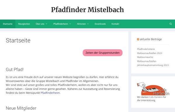 Vorschau von www.pfadfindergruppe-mistelbach.at, Pfadfindergruppe Mistelbach