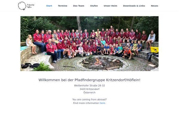 Vorschau von www.scout.at, Pfadfindergruppe und Pfadfinderhaus Kritzendorf