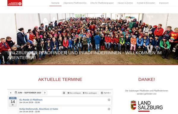 Vorschau von www.salzburger-pfadfinder.at, Landesverband der Salzburger Pfadfinder und Pfadfinderinnen