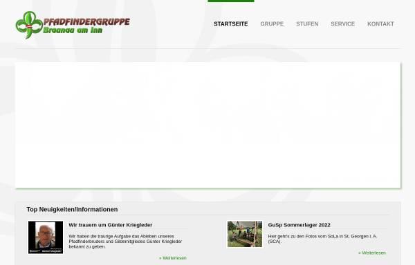 Vorschau von www.pfadfinder-braunau.at, Pfadfindergruppe Braunau