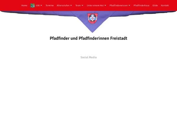 Vorschau von www.scout.at, Pfadfindergruppe Freistadt