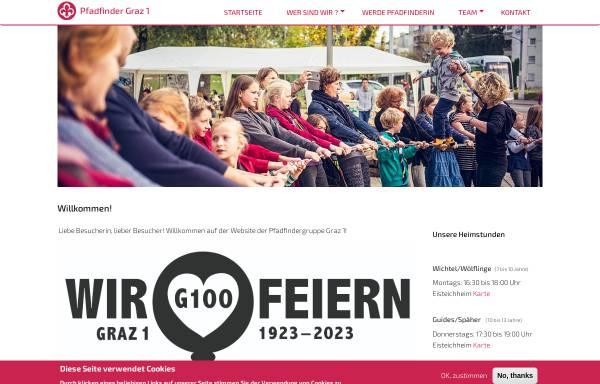 Vorschau von www.scout.at, Pfadfindergruppe Graz1
