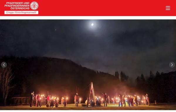 Vorschau von www.pfadfinden.at, Pfadfindergruppe Hinterbregenzerwald