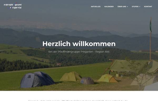Vorschau von scout.daka.at, Pfadfindergruppe Pregarten