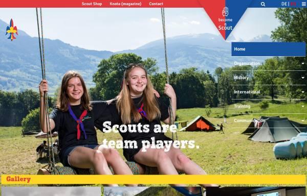 Vorschau von www.scout.li, Pfadfinder und Pfadfinderinnen Lichtensteins