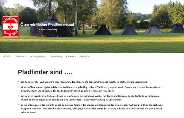 Vorschau von www.pfadfinderbund.at, Österreichischer Pfadfinderbund