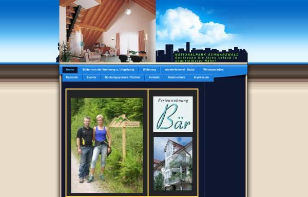 Vorschau von www.ferienwohnung-baer.de, Ferienwohnung Bär
