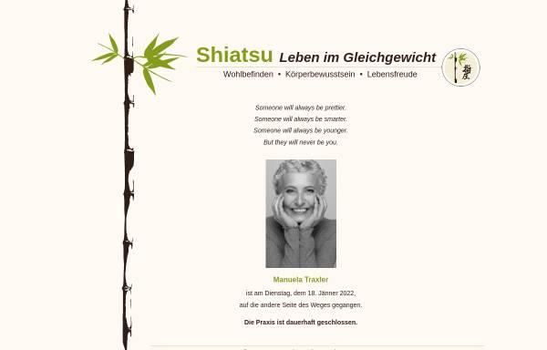 Vorschau von www.shiatsu-reha.at, Traxler Manuela