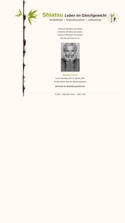 Vorschau der mobilen Webseite www.shiatsu-reha.at, Traxler Manuela