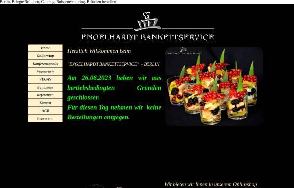 Vorschau von www.bankettservice.com, Engelhardt Bankettservice