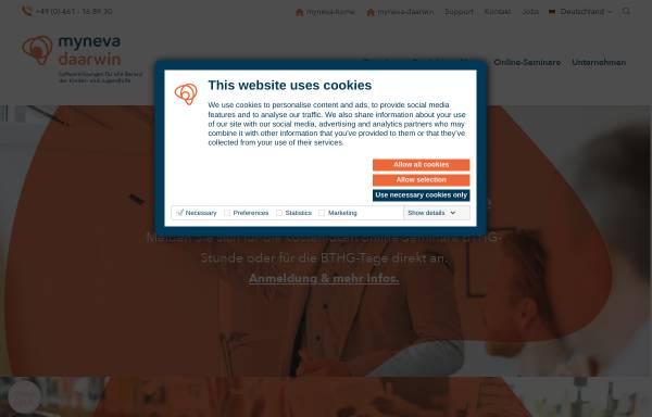 Vorschau von www.daarwin.de, Daarwin Beratungsgesellschaft mbH / QM-Center
