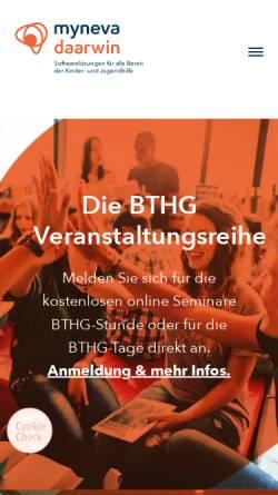 Vorschau der mobilen Webseite www.daarwin.de, Daarwin Beratungsgesellschaft mbH / QM-Center