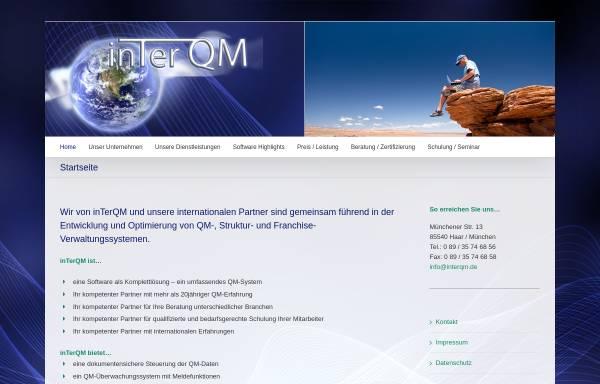 Vorschau von inter-qm.de, InTerQM FMB Deutschland GmbH