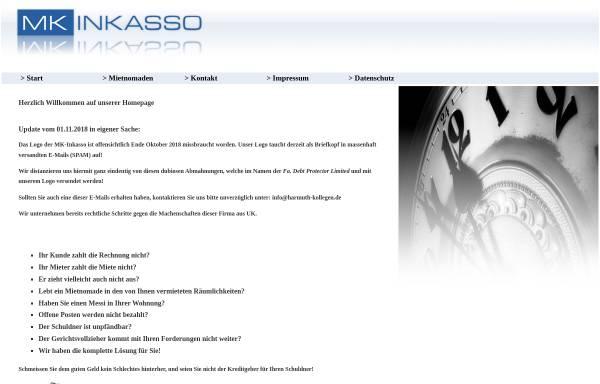 Vorschau von www.mk-inkasso.de, MK Inkasso