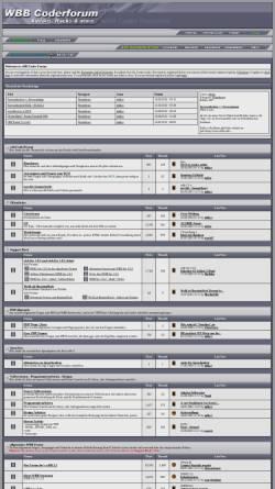 Vorschau der mobilen Webseite www.wbbcoderforum.de, wBB Coder Forum