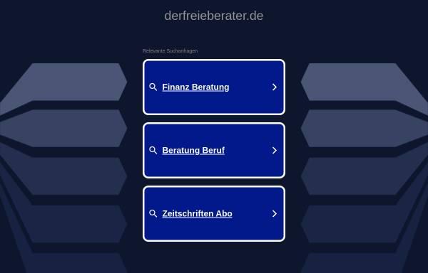 Vorschau von www.derfreieberater.de, Der Freie Berater, Verlags GmbH und Co KG