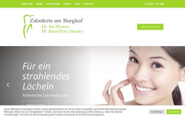 Vorschau von www.z-a-b.net, Zahnärzte am Burghof