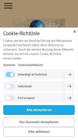 Vorschau der mobilen Webseite www.praxisschmoll.de, Dr. Thomas Schmoll