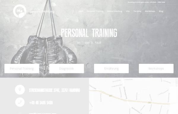 Vorschau von www.mind4motion.info, Personal Training Sinan Abushawashi