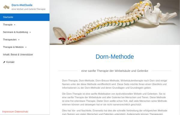 Vorschau von www.dorn-methode-therapie.de, Dorn-Methode