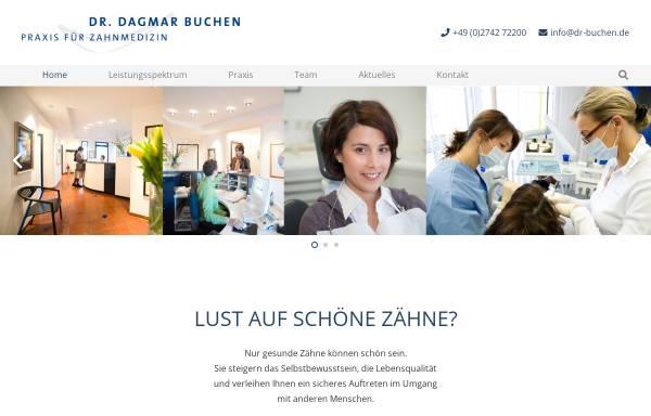 Vorschau von www.dr-buchen.de, Dr. med. dent. Dagmar Buchen