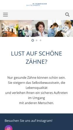 Vorschau der mobilen Webseite www.dr-buchen.de, Dr. med. dent. Dagmar Buchen